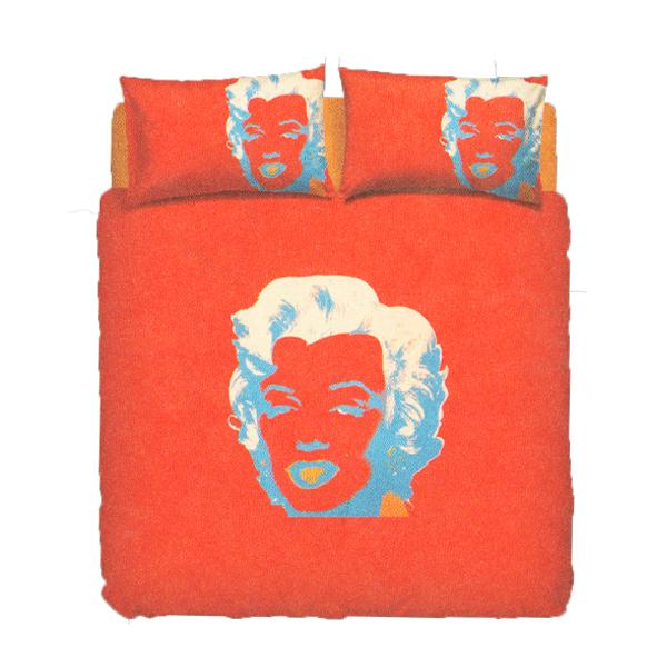 Lenzuola Matrimoniali Marilyn Monroe.Bassetti Parure Copripiumone Marilyn Monroe Di Andy Warhol