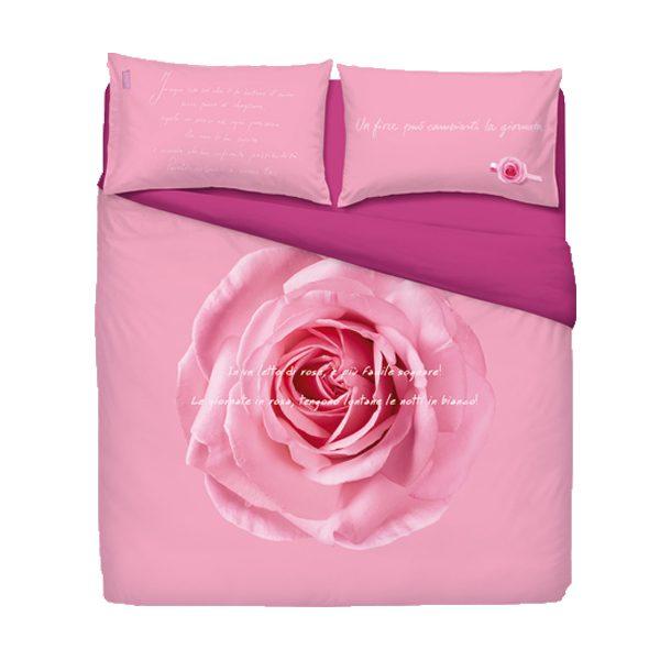 Copripiumino Con Rose.Zucchi Completo Copripiumino Notte Rosa By Camomilla Mis