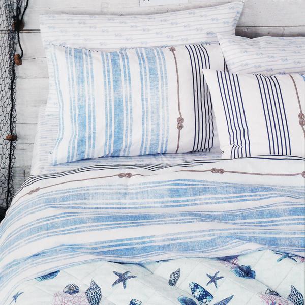 Zucchi completo lenzuola matrimoniale yachting di stefano biancheria per la casa e tende - Biancheria letto bassetti ...