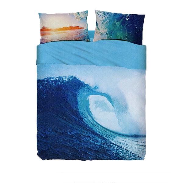 Set Lenzuola Matrimoniali Bassetti.Bassetti Completo Lenzuola Matrimoniale Ocean Wave Linea Time