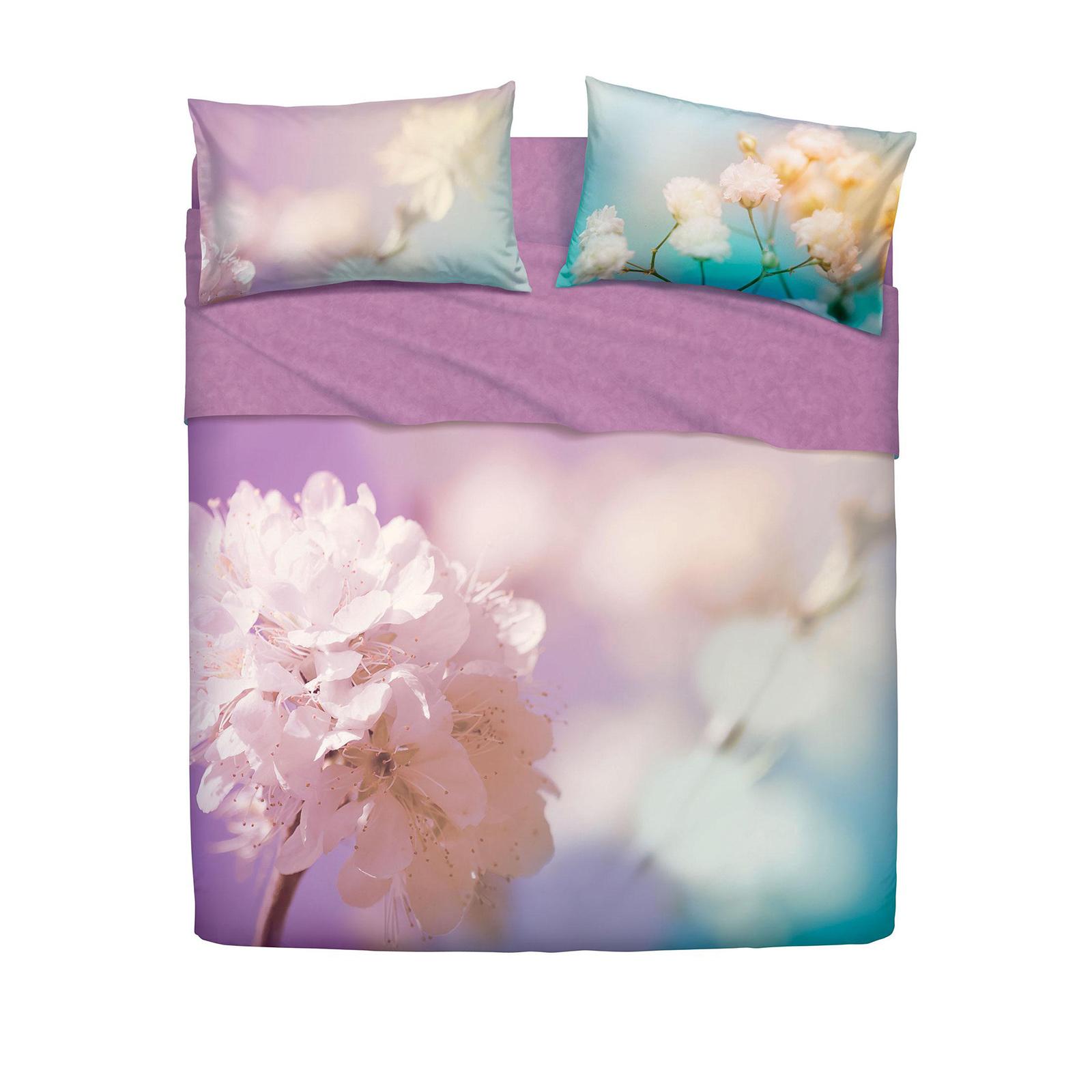 Bassetti completo letto lady flower imagine di stefano - Biancheria letto bassetti ...