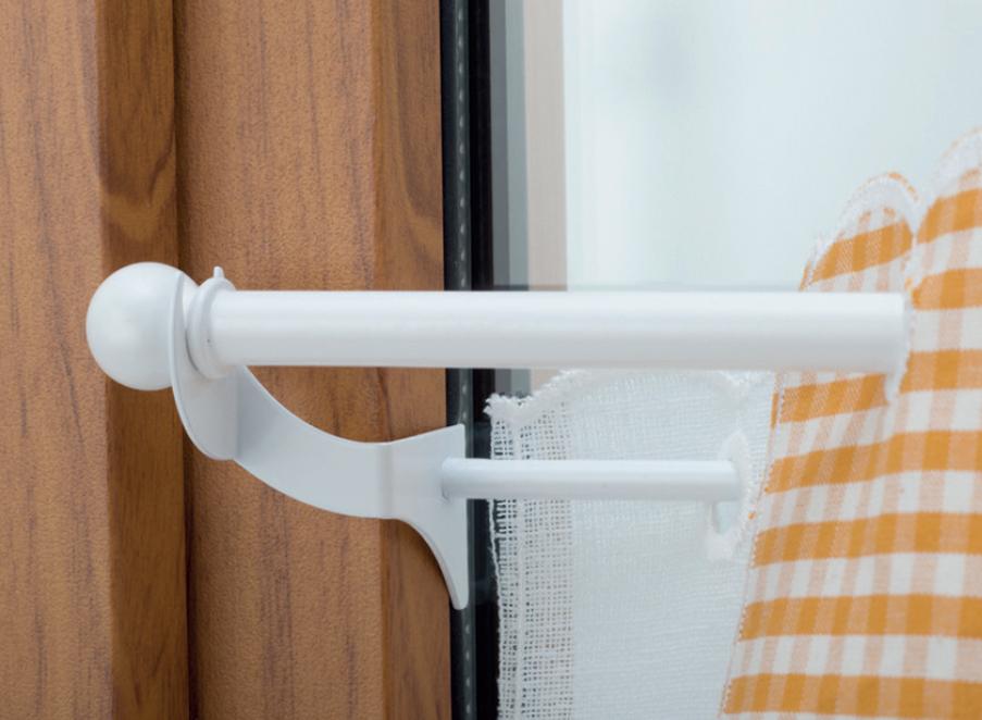 Bastoni Per Tende Con Ventose.Tende A Vetro Senza Bucare Infissi Ganci E Bacchette Le