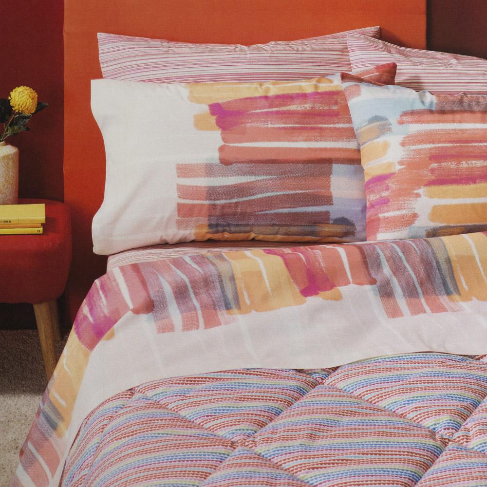 Completo Letto Matrimoniale Still Form Multicolor Bassetti Time