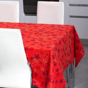 Tovaglia rossa natalizia Vallesusa