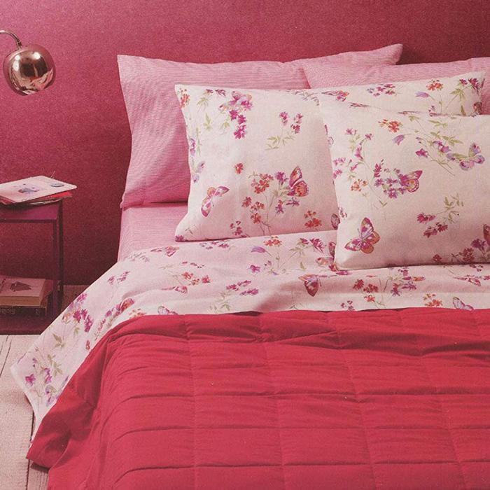 fa61c95a06 Completo letto matrimoniale Zucchi con fiorellini New Garden