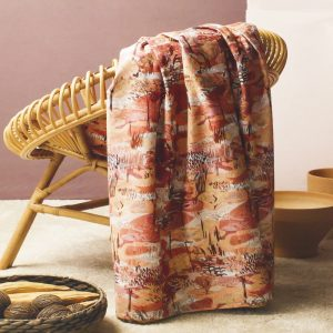 foulard d'arredo bassetti savannah