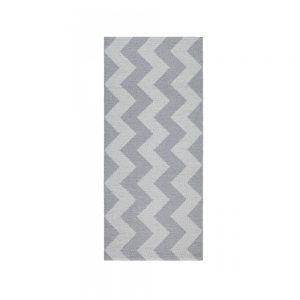 tappeto Mora di Swedy a zigzag grigio chiaro e scuro