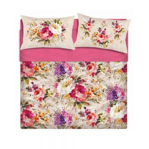 completo letto copriletto maè a fiori espana