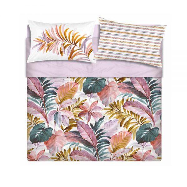 Completo letto copriletto stile jungla Maè by Via Roma 60 linea Sunset