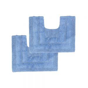 tappeto girowater azzurro