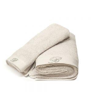 asciugamano blumarine home grigio ghiaccio