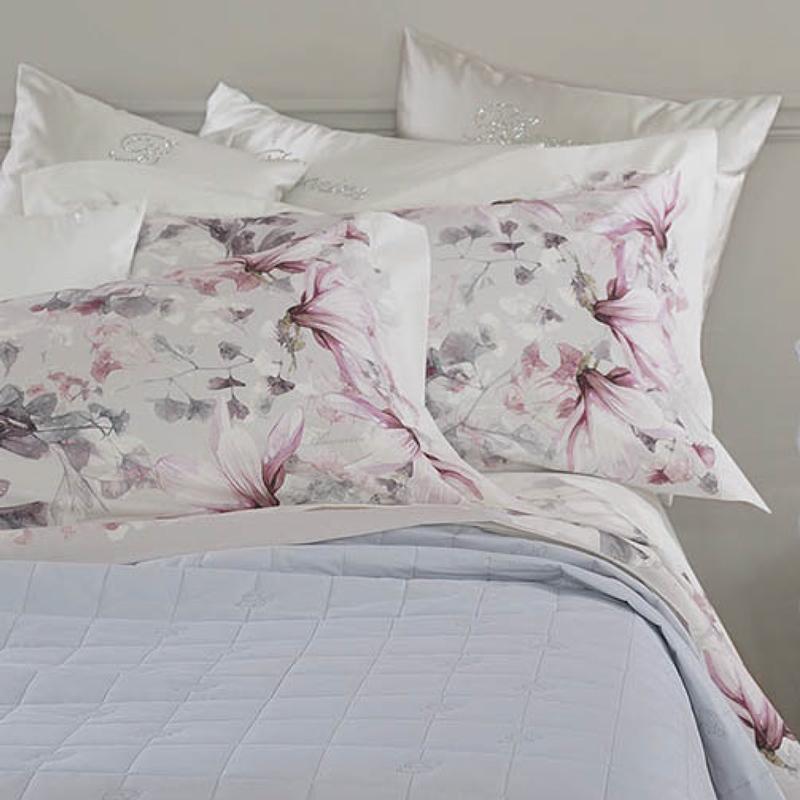 Blumarine Biancheria Da Letto.Blumarine Home Completo Letto Matrimoniale Magnolia