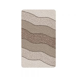 tappeto bagno moderno kleine wolke modello helena