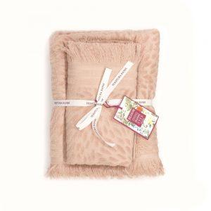 asciugamano cipria tessitura randi petali