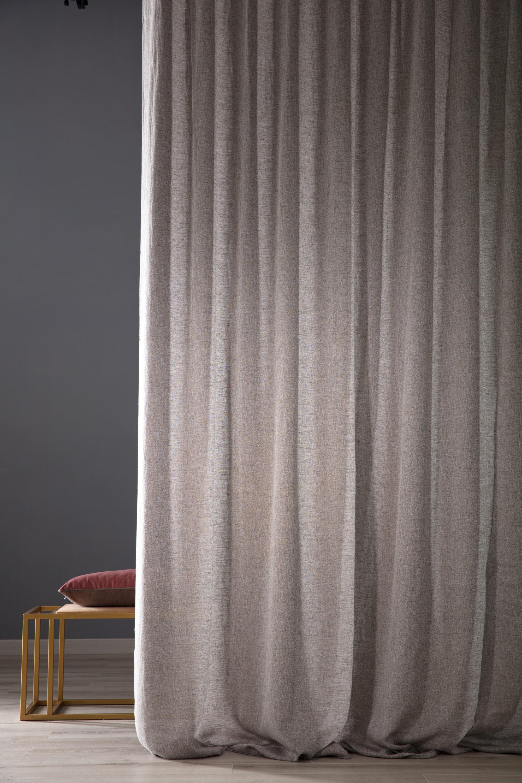 Tessuto Per Tende Da Cucina tenda in lino puro 100% norald