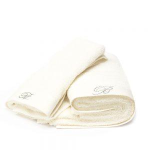 asciugamano blumarine home perla benessere
