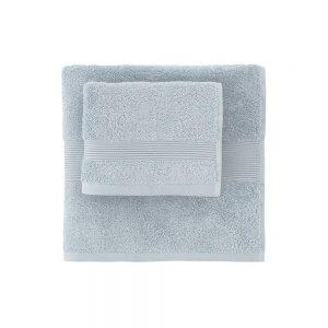 asciugamano zucchi solo tuo azzurro ceruleo