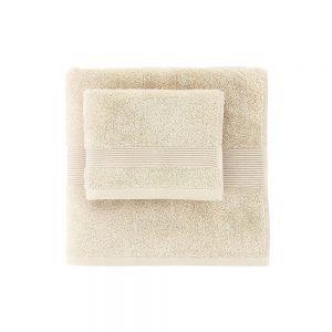 asciugamano zucchi solo tuo beige conchiglia