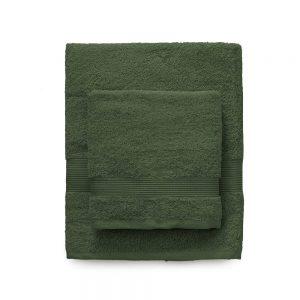 asciugamano zucchi solo tuo verde