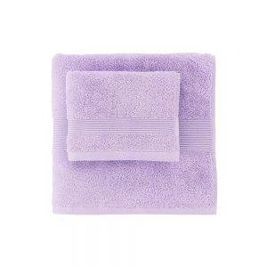asciugamano zucchi solo tuo lilla