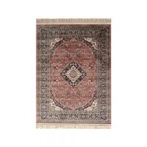 tappeto classico orientale rosa