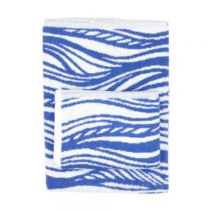 asciugamano zucchi easy chic onde blu