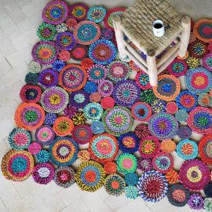 tappeto cotone riciclato bilbao ambientato