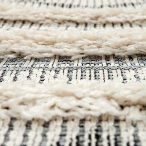 dettaglio tappeto apache berbero di vivaraise in grigio