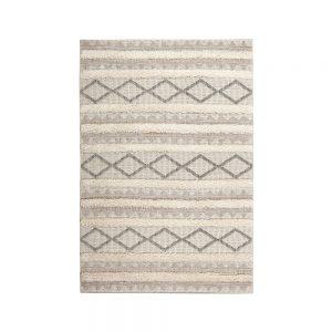 tappeto apache in stile berbero di vivaraise in beige