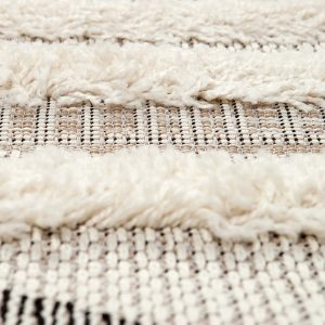 dettaglio tappeto apache berbero di vivaraise in beige