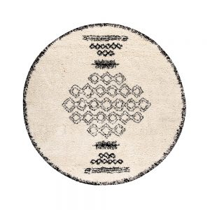 tappeto sora di vivaraise stile berbero tondo