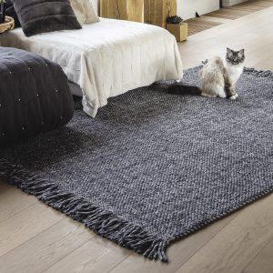 tappeto kulti di vivaraise in grigio ambientato