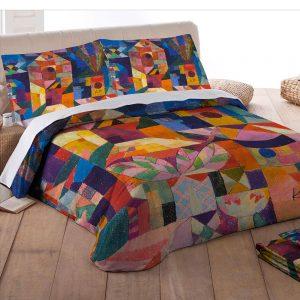 lenzuola klee scorcio di giardino di tessitura randi