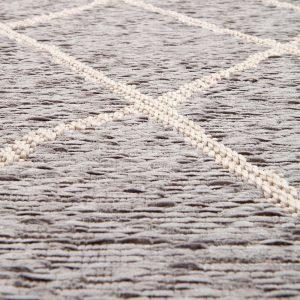 tappeto da esterno linea walmy di vivaraise color perla dettaglio