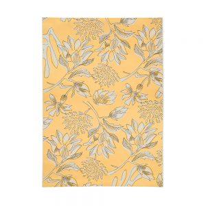 tappeto da esterno a fiori giallo porto di vivaraise