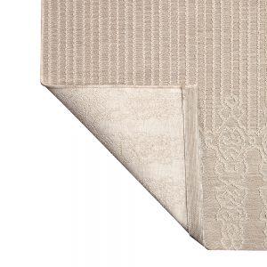 tappeto da esterno adi dettagli retro beige
