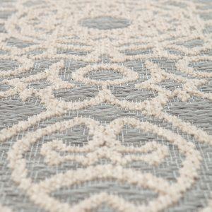 tappeto rettangolare da esterno adi di vivaraise dettaglio