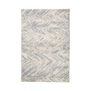 tappeto zig zag evora di vivaraise acciaio