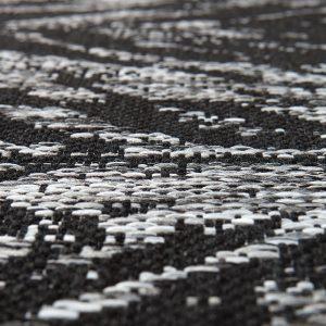 tappeto zig zag evora di vivaraise dettaglio
