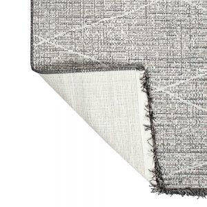 tappeto da esterno tweed di vivaraise a rombi dettaglio retro