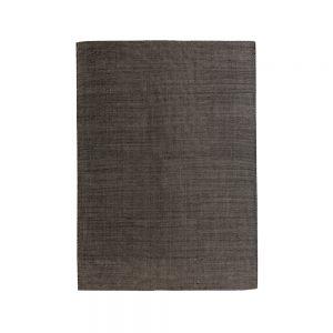 tappeto in lana nero grafite zaida di vivaraise