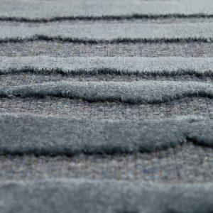 tappeto yuma di vivaraise cobalto dettaglio