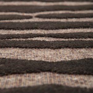 tappeto yuma di vivaraise nocciola dettaglio