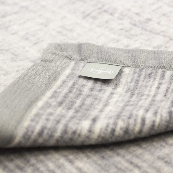 coperta lana merinos matrimoniale darling di somma dettaglio