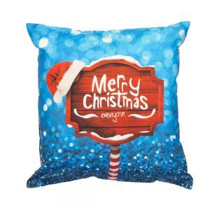 cuscino natalizio eve di bassetti scritta merry christmas