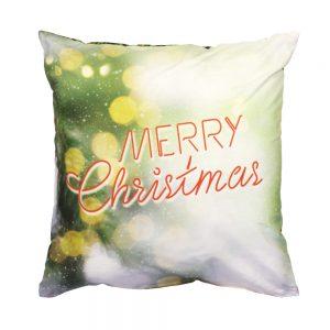 cuscino natalizio xmas light di bassetti con luci di natale