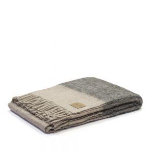 plaid johannesbourg grigio chiaro e scuro somma misto alpaca 1