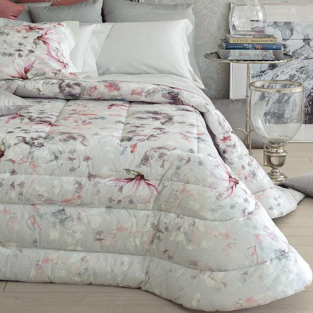 Piumoni Camera Da Letto blumarine home - trapunta matrimoniale magnolia