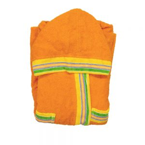 accappatoio bambino gabel arancione