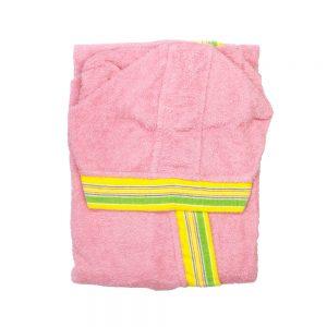accappatoio bambino gabel rosa